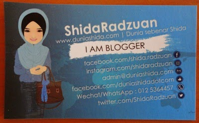 Hadiah Voucher Zalora RM100, Voucher Legoland, Button Badge, Bookmark, Kad Blogger & Kad Raya