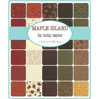 Moda Maple Island Fabric by Holly Taylor for Moda Fabrics