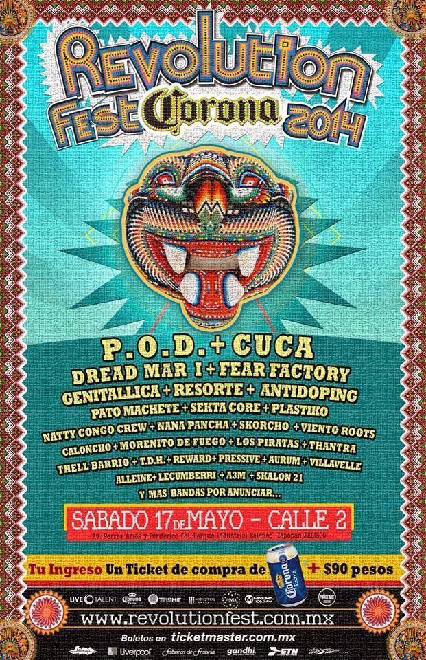 Cartel Revolution Fest 2014 Calle 2