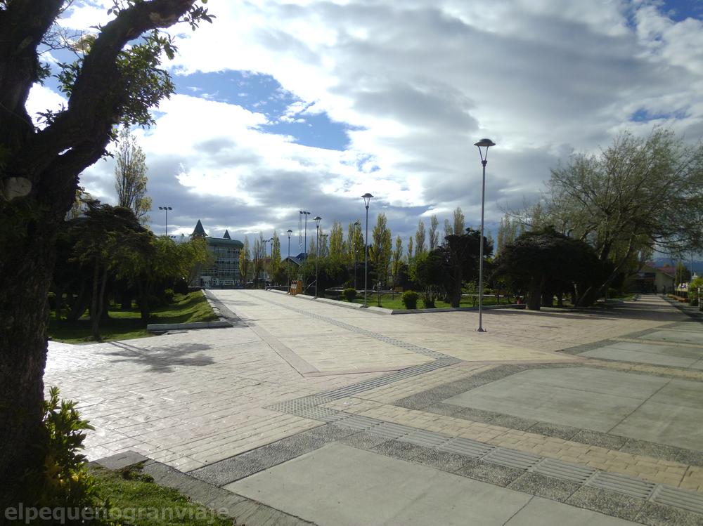 Puerto Natales plaza, plaza de armas, Chile