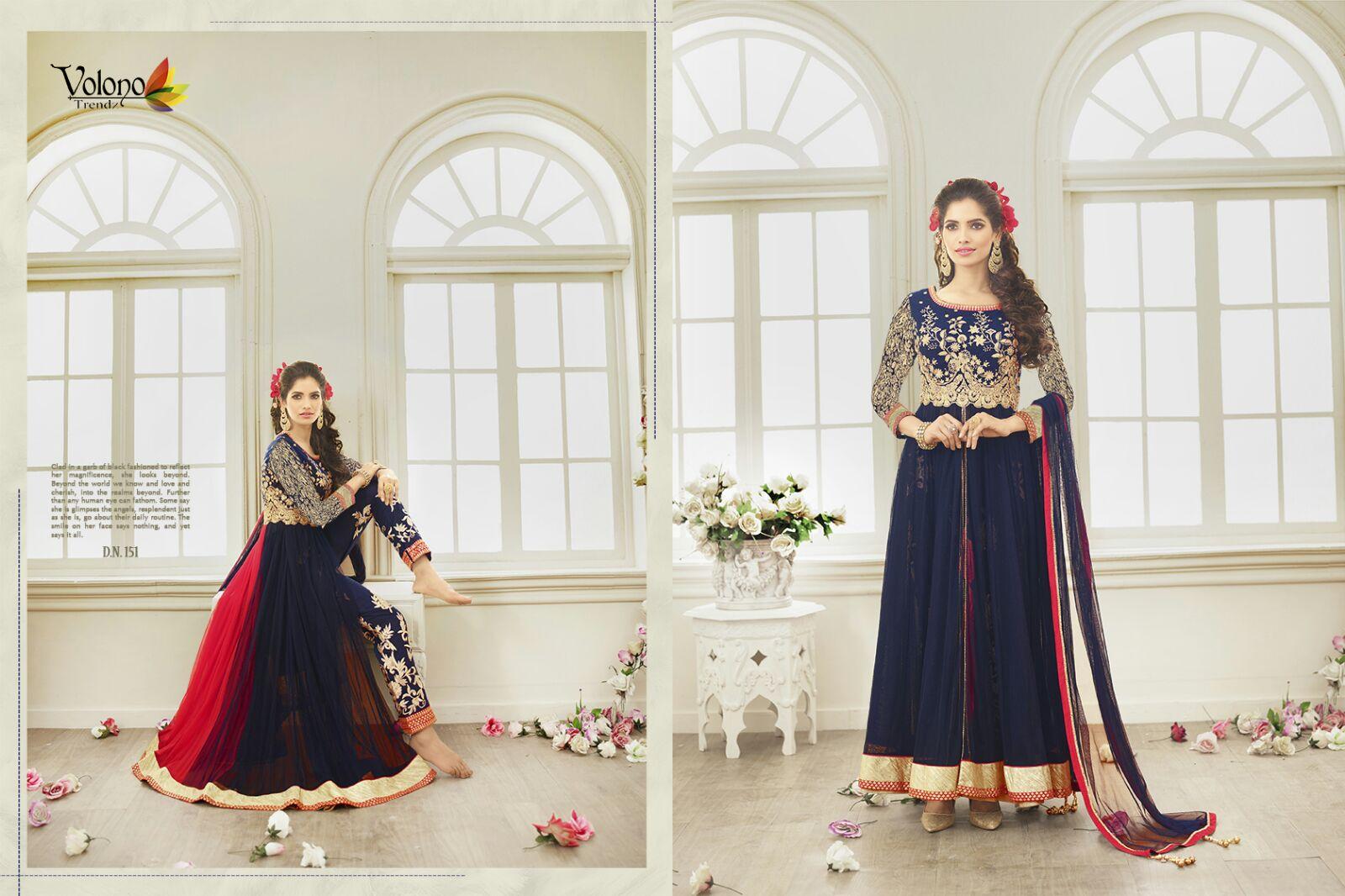 Pari Vol 1 – Buy Heavy Embroidered Designer Georgette Salwar Suit