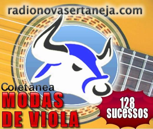 Coleção Modas de Viola - 128 Sucessos