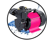CRI SHINE-50 Self Priming Monoblock Pump (PSM-3) (0.5HP) Online Dealers in Chennai, India - Pumpkart.com