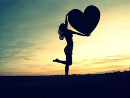 Levando pedacinhos de amor por aí....