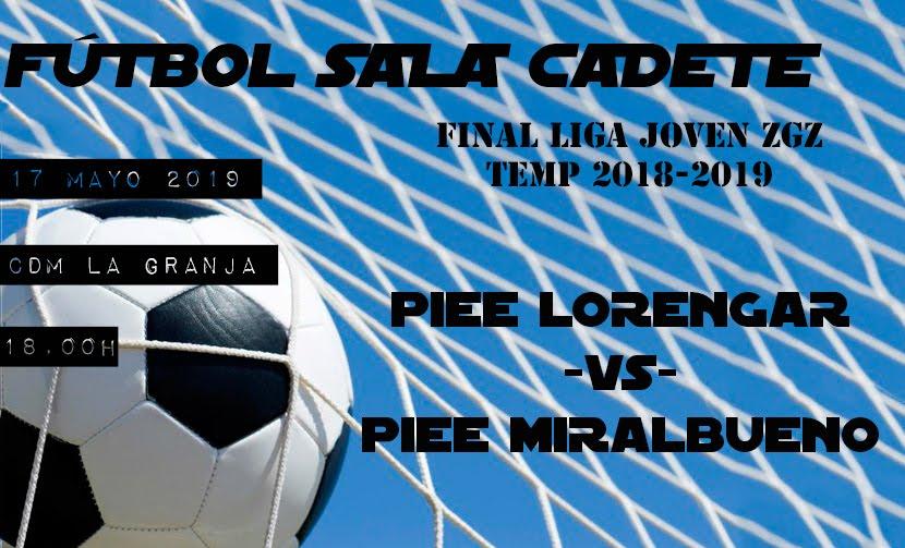 Final Liga FS Cadete