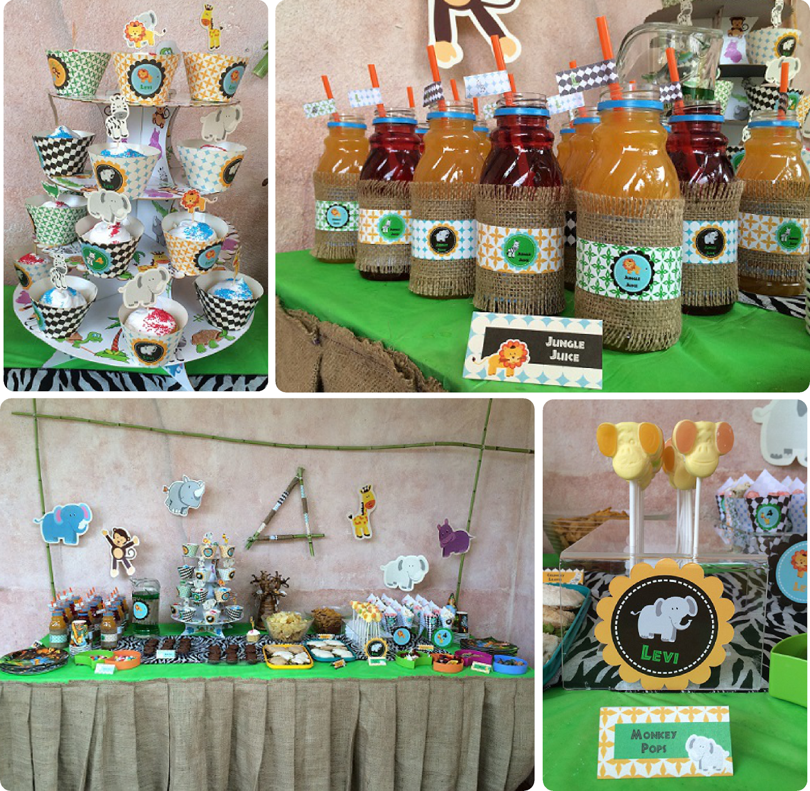 Sweet as party time african safari party for African party decoration ideas