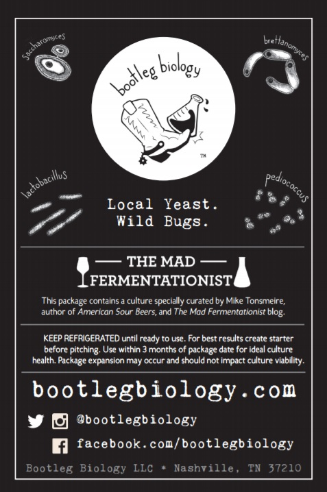 Bootleg Biology Mad Fermentationist Saison Blend