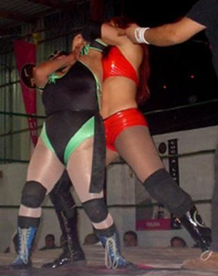 luchadora, luchadoras, mexican female wrestlers