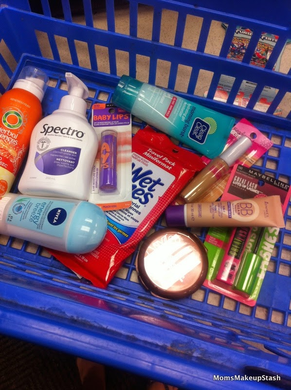 Back to School, Beauty Essentials, Beauty Tips, Teenage Makeup, Makeup for Young Girls, Makeup for High School, Walmart Challenge, Back to school basics, makeup essentials
