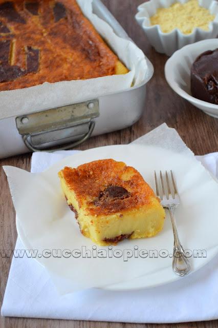 torta cremosa di mais