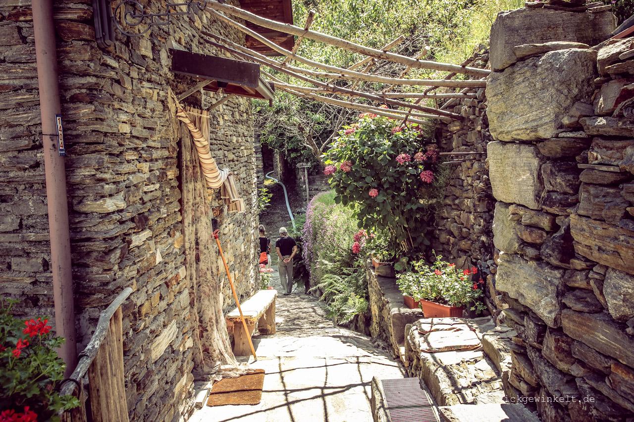 Bergdorf Tappia in Italien, Piemonte