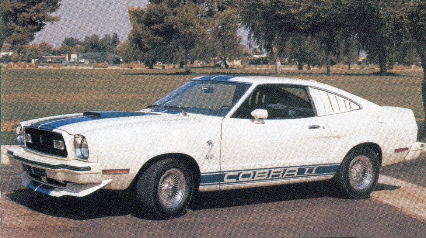 The Cobra II Was Available In White With Blue Stripes 1976 Or Black Gold 1977 Most People Assume Farrah Fawcett Car Seen On