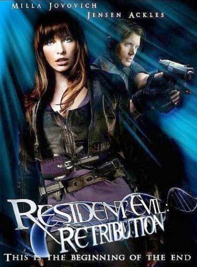 Resident Evil Retribution Movie