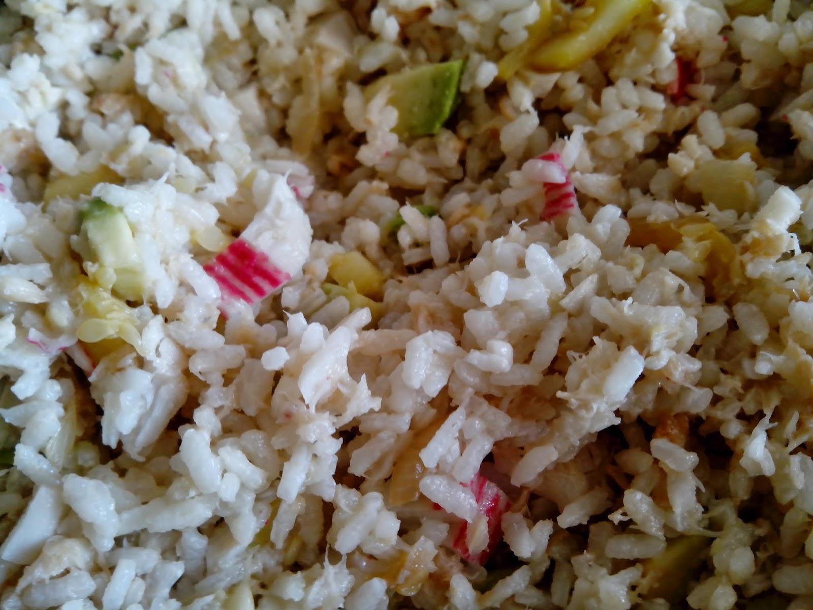 Fotografía del arroz acabado.