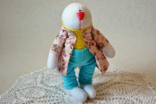 заяц, тильда, игрушки ручной работы, заяц текстильный, заяц игрушка, заяц из флиса