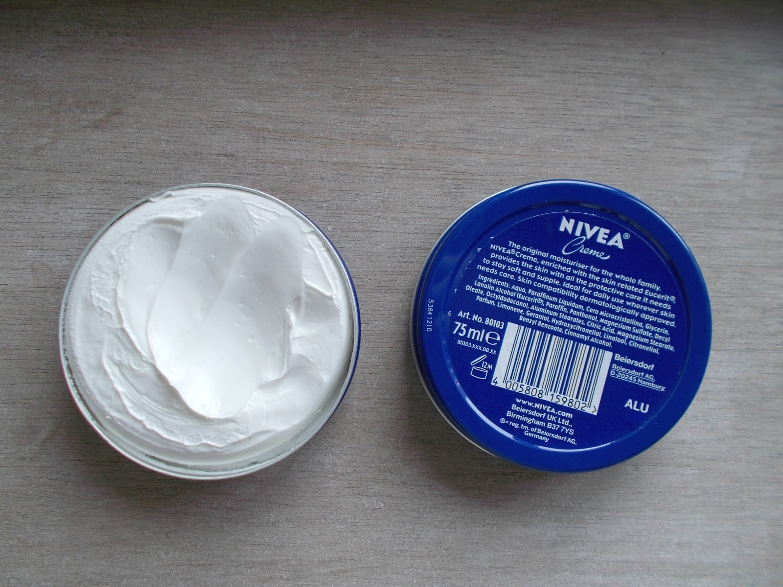 Nivea Creme 75ml limited edition tins