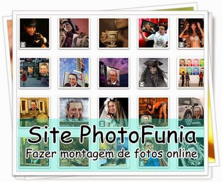 Montagens de fotos photofunia 25