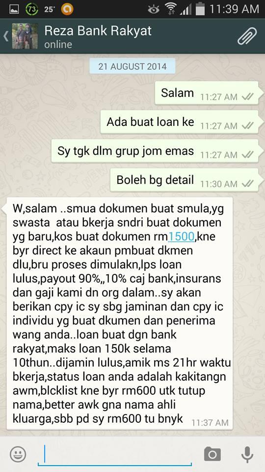 Selangor Crime Watch Penipuan Ejen Loan Gerenti Lulus