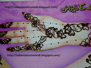 best simple and easy mehndi designs 2013