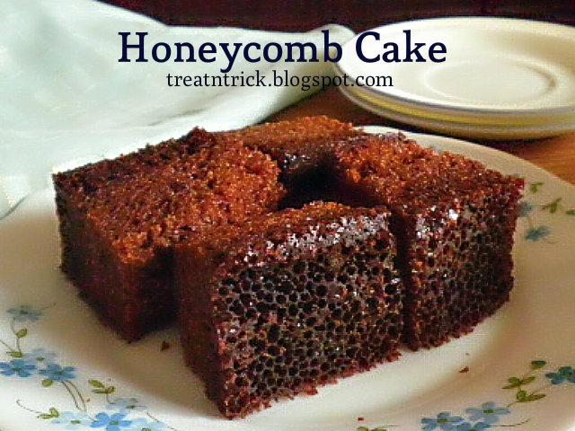 Honeycomb Cake  Recipe @ http://treatntrick.blogspot.com