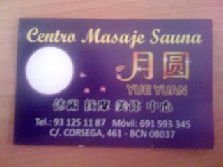 YUE YUAN - Centro Masaje Sauna