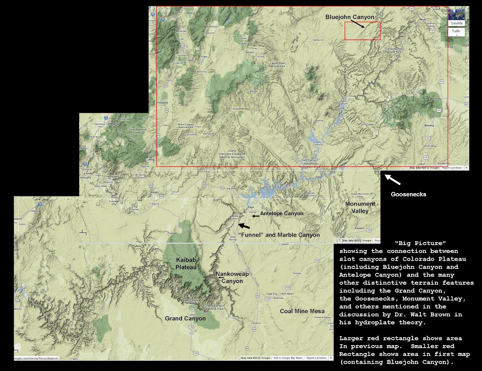 The Mathisen Corollary Bluejohn Canyon and Slot Canyons