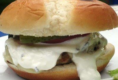 калифорнийский бургер, гамбургер диетический