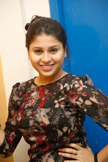 Hamida looks cute smiling beauty at Sahsam Cheyyara dimbaka event