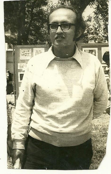 Humberto Pinedo a las 23 años