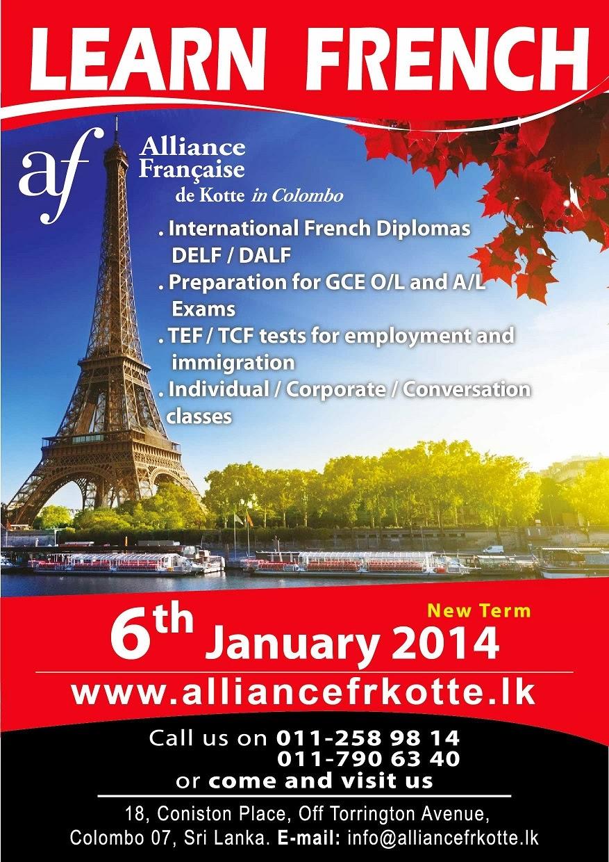 Learn french alliance francaise london