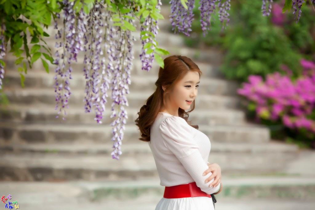 3 Kim Ha Eum - Carny Shoot, Three Outfits- very cute asian girl-girlcute4u.blogspot.com