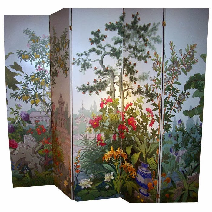 eye for design decorating with zuber scenic wallpaper