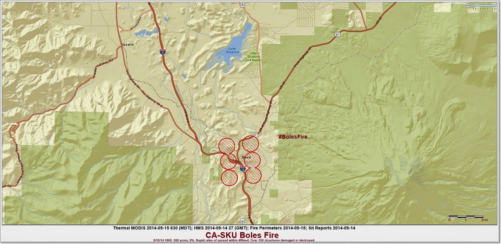 CA-SKU BOLES FIRE PERIMETER MAP 9-15-14