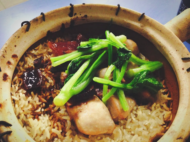 Claypot Rice at Lian He Ben Ji Claypot