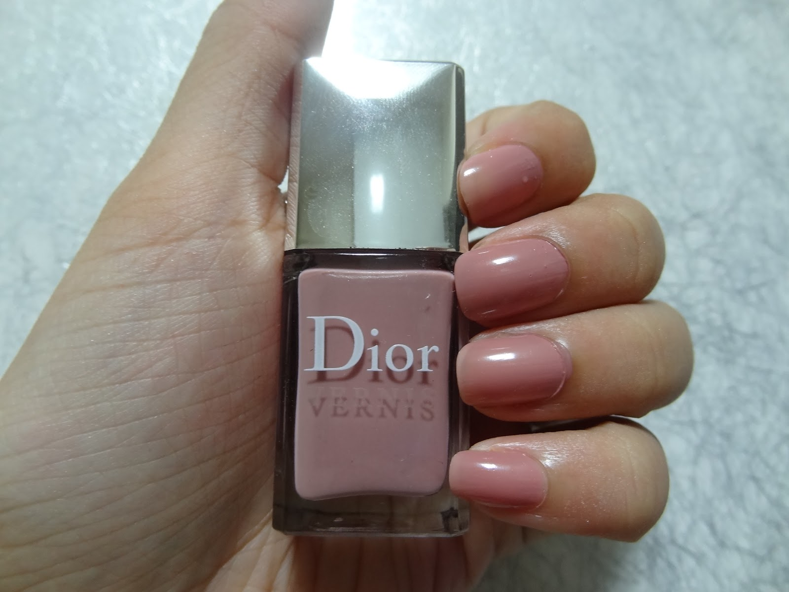 NOTD: Dior Incognito - Sweet Pastel Rose Pink | Positively Nice