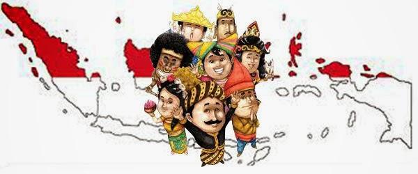 Berbeda tapi tetap satu, Indonesia!