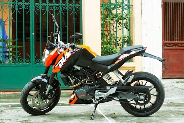 KTM Duke 125 ABS 2013 moi