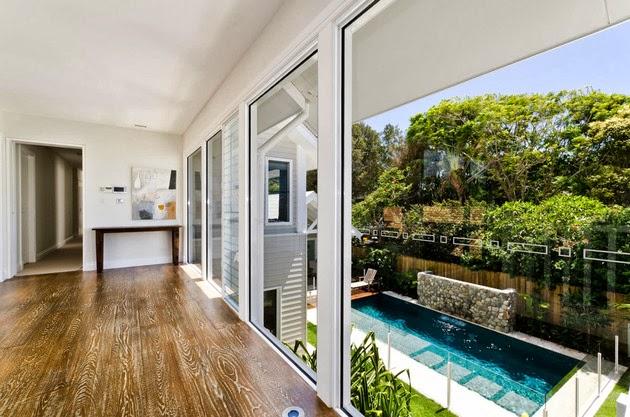 rumah minimalis terbuka dengan kolam renang desain rumah
