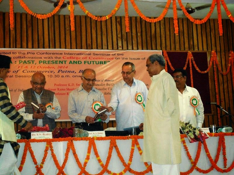 Dr.Y.V. Reddy is releasing my book