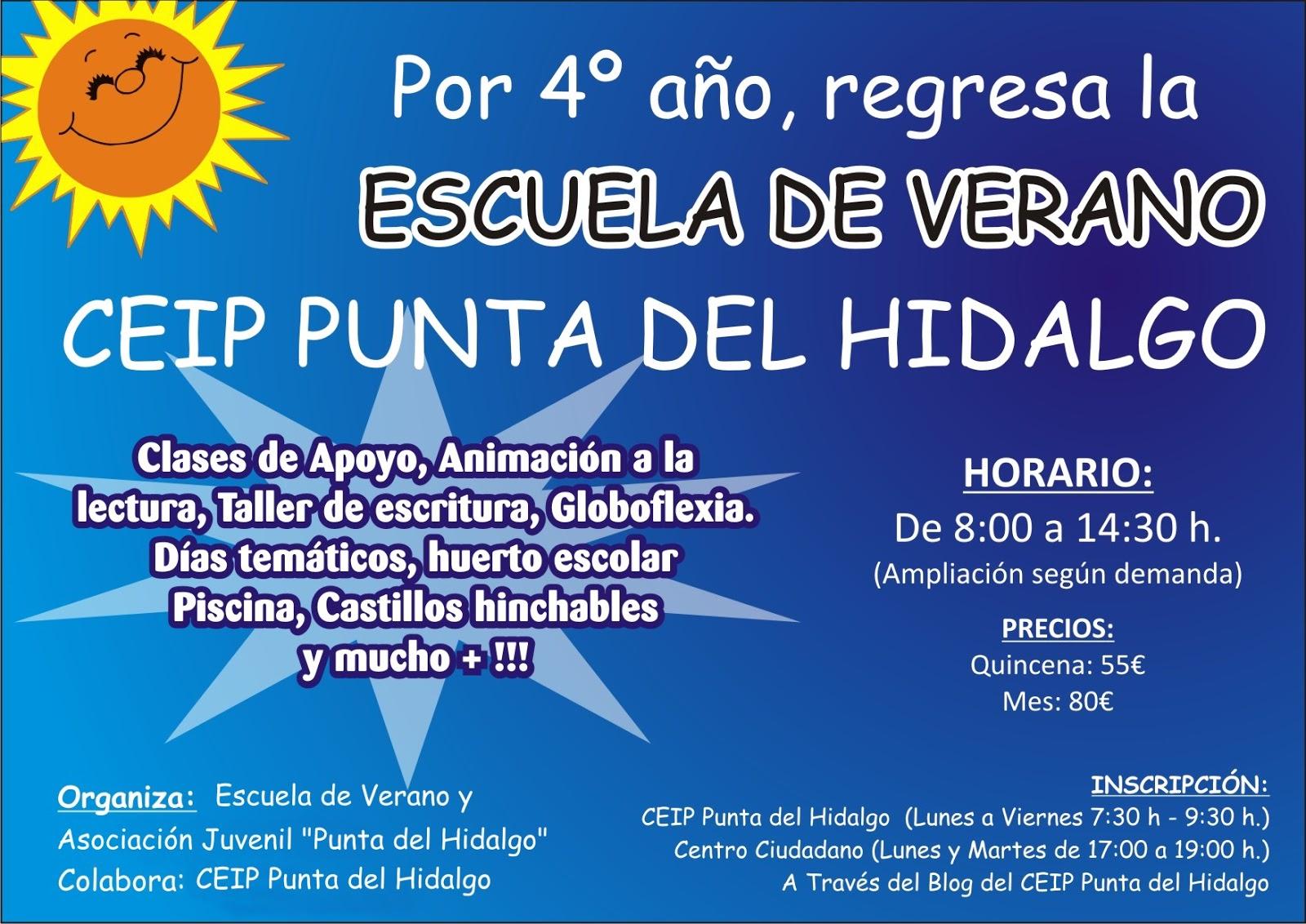 C.E.I.P. PUNTA DEL HIDALGO: 2013