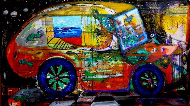 Cosmic Ride by Marcos Guerra