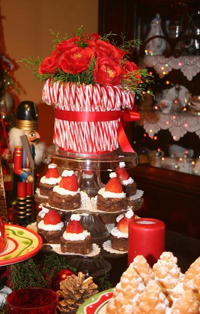 Arreglo-de-Navidad-y-Brownies-de-Santa