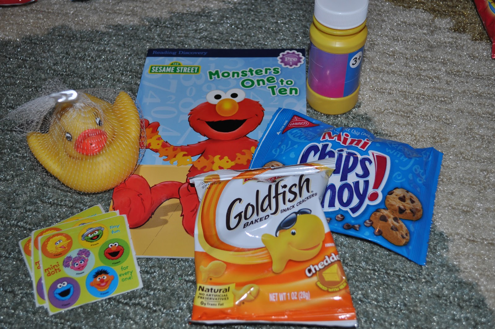 Searching for Sesame Street: Cute Sesame Street themed Goody Bags.
