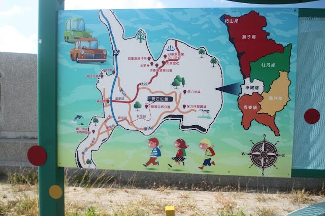 屏東車城陵頂自然公園-牛嶺堀