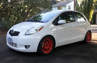 Modified 2007 Toyota Yaris liftback