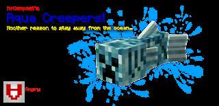 Aqua Creepers Mod para Minecraft 1.7.10