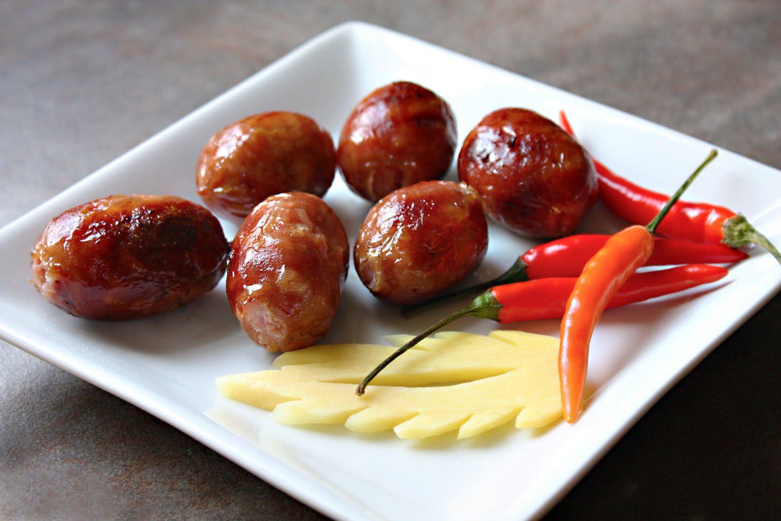 Chinese sweet pork sausage recipe