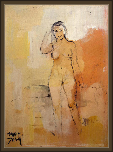 DESNUDOS-NUDE-MUJERES-WOMEN-ART-ARTE-PINTURA-PAINTINGS-PINTOR-ERNEST DESCALS