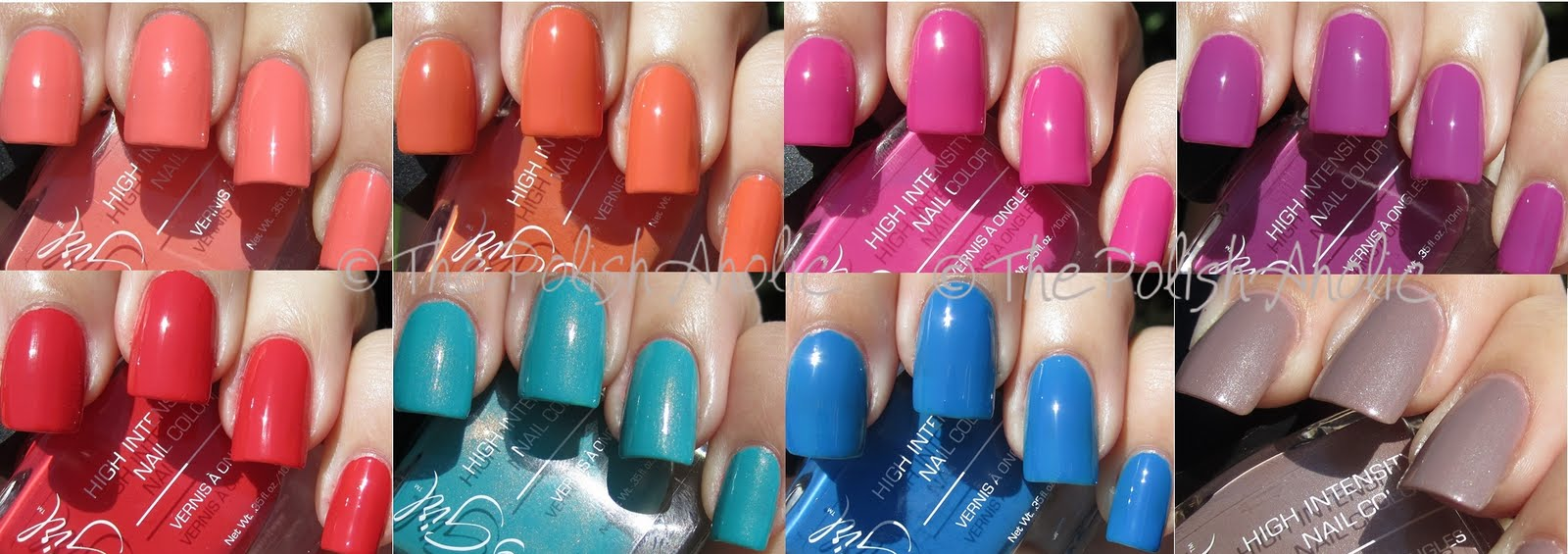 The PolishAholic: Jesse\'s Girl JulieG Collection Swatches!