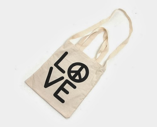Peace in Love Echo Bag